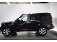 LAND ROVER DISCOVERY 4 3.0 4 SDV6 HSE [PAN ROOF/NAV/LEATHER] 5d AUTO 255 (black) 2013