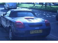 2000 TOYOTA MR2 ROADSTER VVTI 1.8 PETROL IDEAL WINTER PROJECT