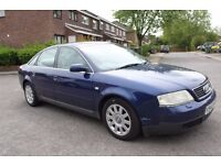 1999 Audi A6 2.4 SE Automatic ** GEARBOX OIL LEAK ** for spares or parts NON DRIVER