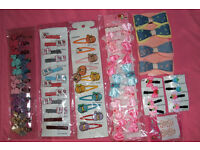 Girl's hairclips (NEW)