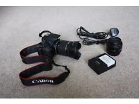 Canon EOS 700D 18.0MP DSLR Camera - 2x lens 18-55mm IS STM & 50MM 1.8 II lens