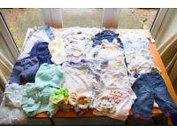 Boys Clothes 0 to 3 months, 3 to 6 months, 6 to 9 months