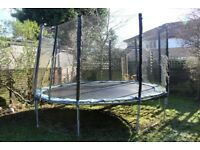 14 ft Trampoline with safety net