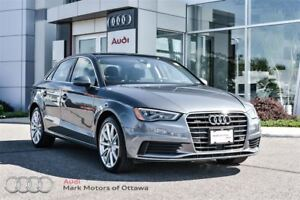 2015 Audi A3 2.0T Technik (Tech + LED package)