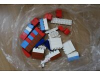 Small bag of assorted Megablocks