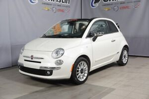 2014 Fiat 500 ***LOUNGE CUIR CONVERTIBLE***