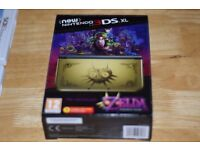 Nintendo NEW 3DS XL Limited Edition Zelda Majoras Mask with AC adapter, Pokemon and Ocarina of time