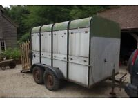10ft Bradley Livestock Trailer