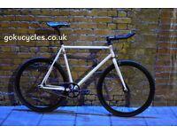 Special Offer GOKU CYCLES Steel Frame Single speed road bike TRACK bike fixed gear fixie bike 16