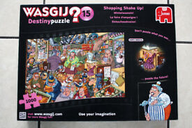 Wasjig No15 Shopping shake-up