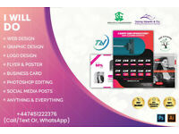 Website Design| LOGO Design|Flyer Design|Poster|Graphic design|Social Media Management|SEO service