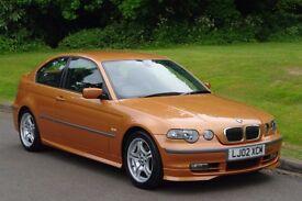 2002 BMW 325ti SE Compact.. Very Rare & Hi Spec.. Superb Low Miles Example..