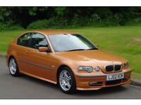 2002 BMW 325ti SE Compact.. Very Rare & Hi Spec.. Superb Low Miles Example..