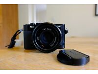 Sony RX1 full frame 24 megapixel camera. Lovely condition, with extras.