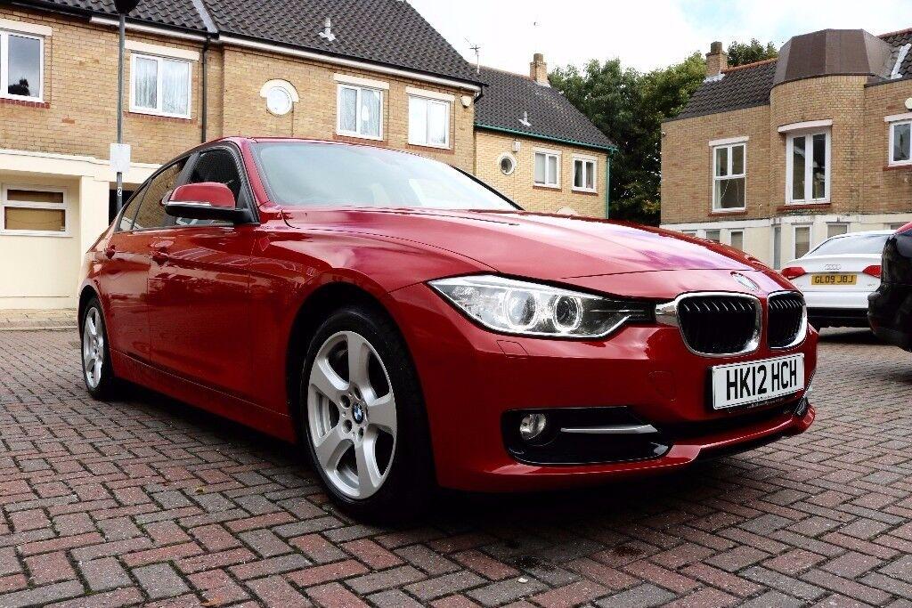 BMW 320D EFFICIENT DYNAMICS AUTOMATIC 4DR SALOON FSH HPI CLEAR 2 KEYS EXCELLENT CONDITION