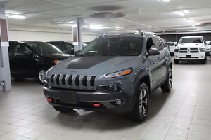 2014 Jeep Cherokee TRAILHAWK PLUS 4X4 *CUIR/GPS/CAMERA RECUL/HIT