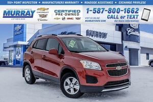 2015 Chevrolet Trax LT**One Owner!  Low KMs!**