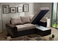 **SUPER SALE** LARGE GIANI FABRIC SOFA BED!! £479 LIMITED STOCK!!