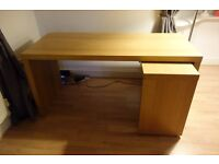 IKEA Desk with pull out panel