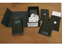 SAMSUNG GALAXY S7 EDGE,32GB ONYX BLACK, FACTORY UNLOCKED,IMMACULATE CONDITION,BOXED AS NEW