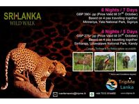 "=""Wild Walk"" with TripMe Lanka (6 Nights/ 4 Days)"