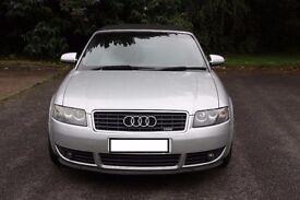 Audi A4 1.8T Sline Convertible Bonnet
