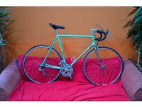 Vintage Peugeot racing bike size 60cm. PFN10, Vitus 172 frame (like reynolds 531) Stronglight, Mavic