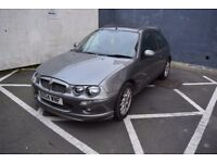 MG ZR 1.8 - MOT expired, not roadworthy, sold for spares and repairs