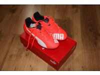 Puma Football Boots Size 3