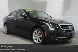 2015 Cadillac ATS SEDAN AWD LUXURY ECRAN TACTILE CUIR MAGS 17''
