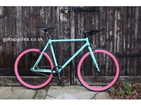 SALE ! GOKU cycles Steel Frame Single speed road bike TRACK bike fixed gear bike racing bike q3
