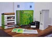Microsoft Xbox 360 White Console (PAL) + 2 Controllers + 15 Games Inc Dark Souls
