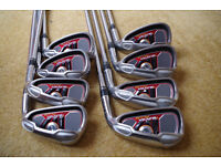TaylorMade - Burner Plus Irons - 4, 5, 6, 7, 8, 9, P &S