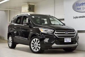 2017 Ford Escape Titanium 4WD 2.9%/72 MOIS DISPO!
