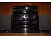 Pioneer Integrated Separates Amp/CD/Tape/Radio/Record Player