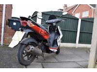 50CC 2-stroke KYMCO Super8 Scooter for sale