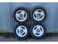 """Saab 900 Aero 15"""" Alloy wheels x4 (4X108 Fitment)"""