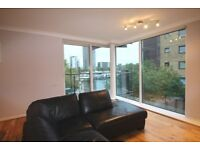 * Stunning water view 2 bed, 2 bath * 24hr concierge * Parking * 10 mins walk to Canary Wharf *