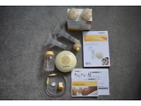 Medela Swing Electric Breast Pump, Bottles & Calma Teats