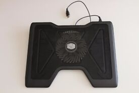 Cooler Master NotePal X2 Laptop Cooling Pad with 140mm Blue LED Fan