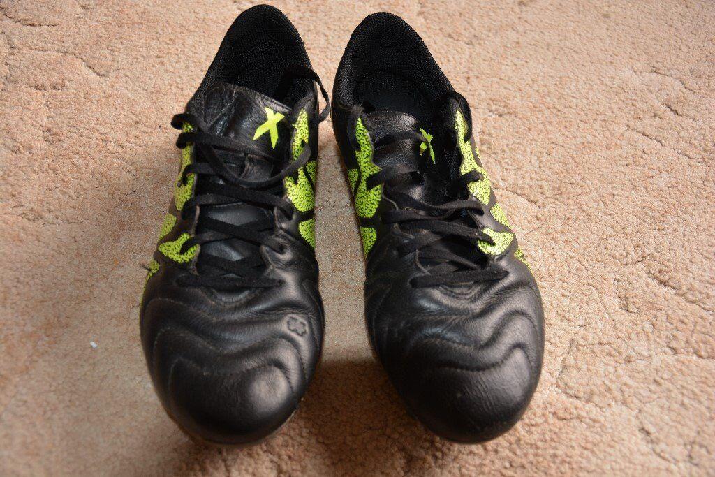 Adidas football boots as good as new