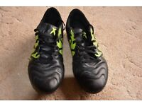 Adidas football boots as good as new