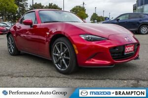 2017 Mazda MX-5 GT. DEMO. CRUISE CTRL. BLUETOOTH. PWR MIRRORS