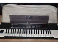 JVC RB-300 STEREO KEYBOARD WITH COVER/POWER CABLE CAN BE SEEN WORKING