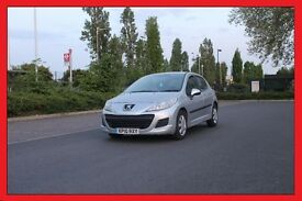 PEUGEOT 207 1.4 S 5DR YEAR 2010 LADY OWNER ONLY £2400 VERY ECONOMICAL. EXCELLENT CONDITION