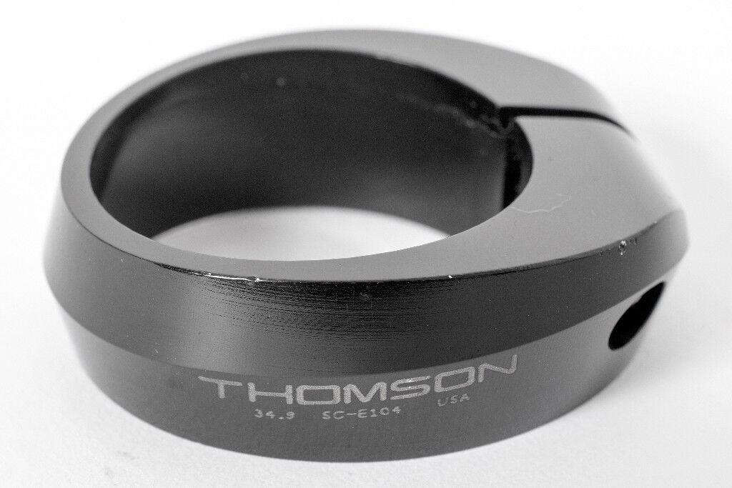 Thomson Seat Post Clamp - 34.9mm - Black