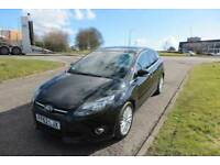 FORD FOCUS 1.6 ZETEC TDCI,2012, Alloys,A/Con,Privacy Glass.Full Service History,£20 Road Tax.68,mpg