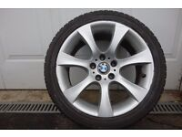 BMW Alloy and Tyre, 275/35ZR18, Rear Wheel 18 inch