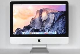 Apple iMac 21.5-inch 2.7GHz Quad Core i5 8GB RAM 1TB HD AMD Radeon Latest IOS