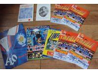 Linfield 61/62 Brochure- Magnificent Seven-J Bambrick-N.Bailie-+ 6 Programmes